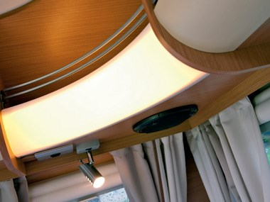 Adria Caravans Adora 612 DP interior lighting