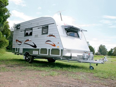 New Age Caravans Bilby exterior unhooked