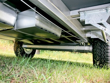 New Age Caravans Bilby suspension