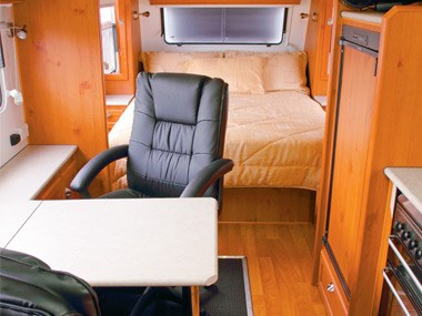 Aussie By Design Humpback Smart Van spacious interior