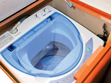 Newlands Caravans Onyx washing machine