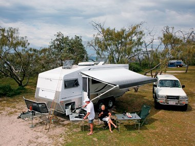 Outback RVs Overlander ready to camp