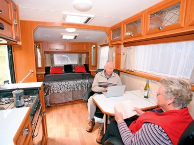Crusader Caravans Inspiration spacious interior