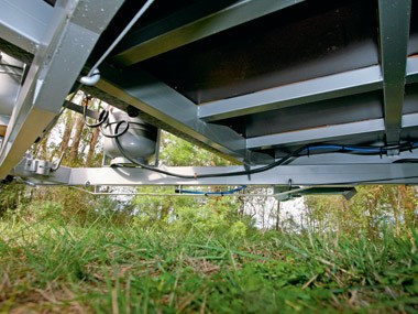 Crusader Caravans Inspiration suspension