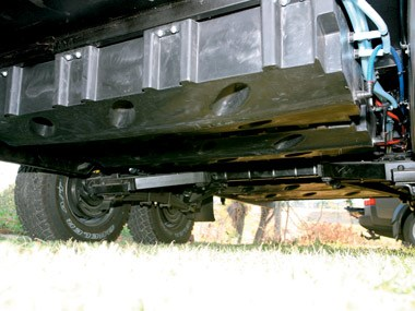 Bushtracker custom offroad caravan suspension