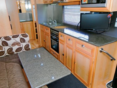 Aussie Wide Caravans Bunderra lounge suite