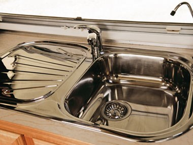 Spinifex EpiX caravan interior sink