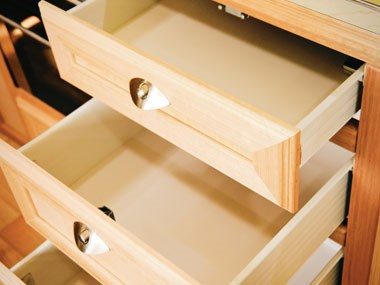 Spinifex EpiX caravan interior storage drawers