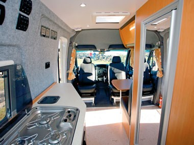 Horizon Acacia 4X4 motorhome another interior view
