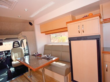 Paradise Integrity motorhome spacious interior