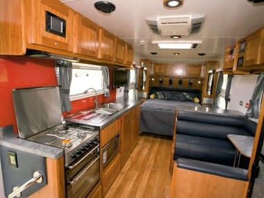 Sunland Caravans Winton IV interior space