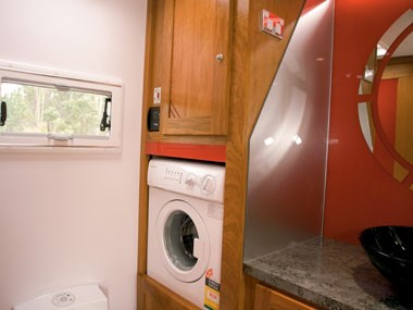 sunland caravans winton iv washing machine