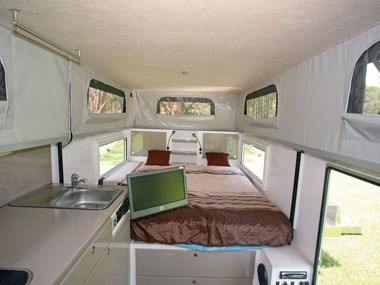 North Coast Campers Topender XLT camper interior 01