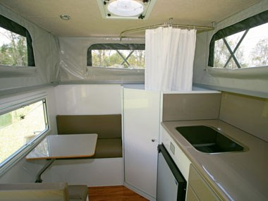 North Coast Campers Topender XLT camper interior 02