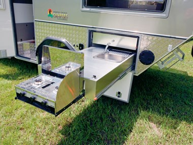 North Coast Campers Topender XLT camper options