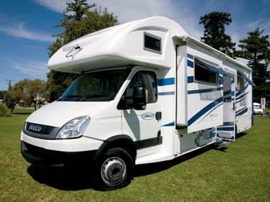 Sunliner Monte Carlo M72 motorhome slide out