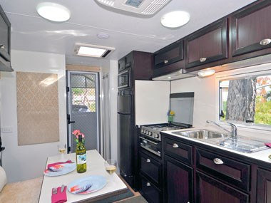 kitchen Kingston-Bell Park Royal caravan
