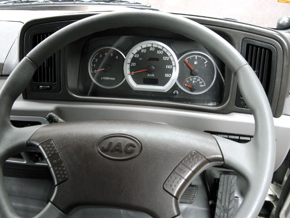 JAC Trucks HFC1061K steering wheel.