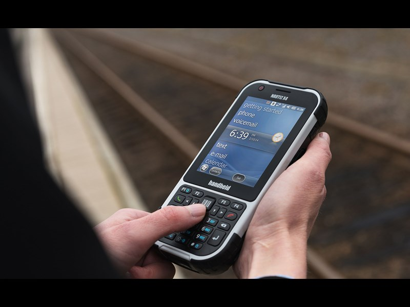 Nautiz eTicket Pro II rugged IP65 public transport trainstationPreview