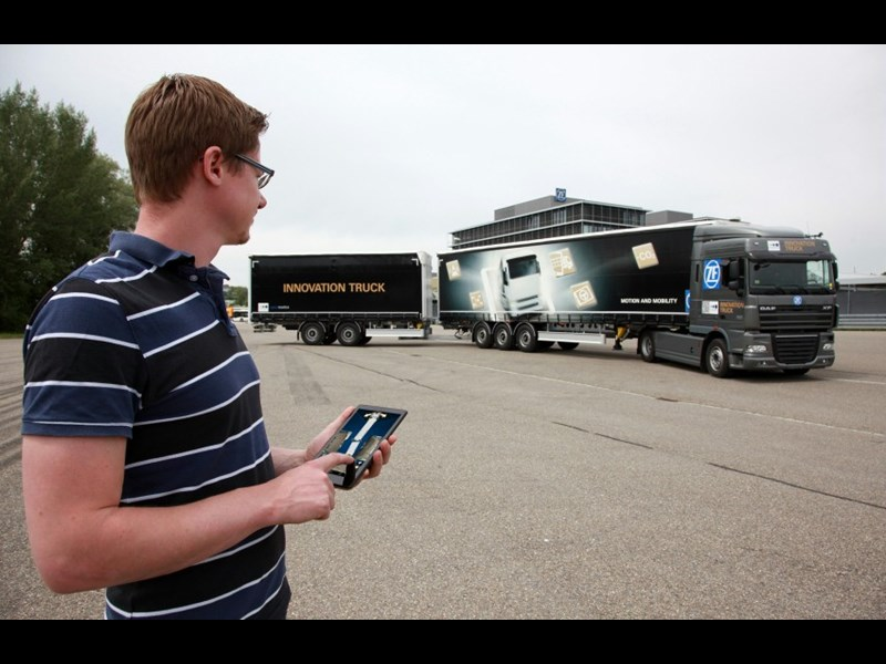 ZF Innovation truck app