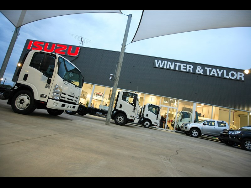 winter and taylor isuzu geelongs new one stop truck shop smfzepsj