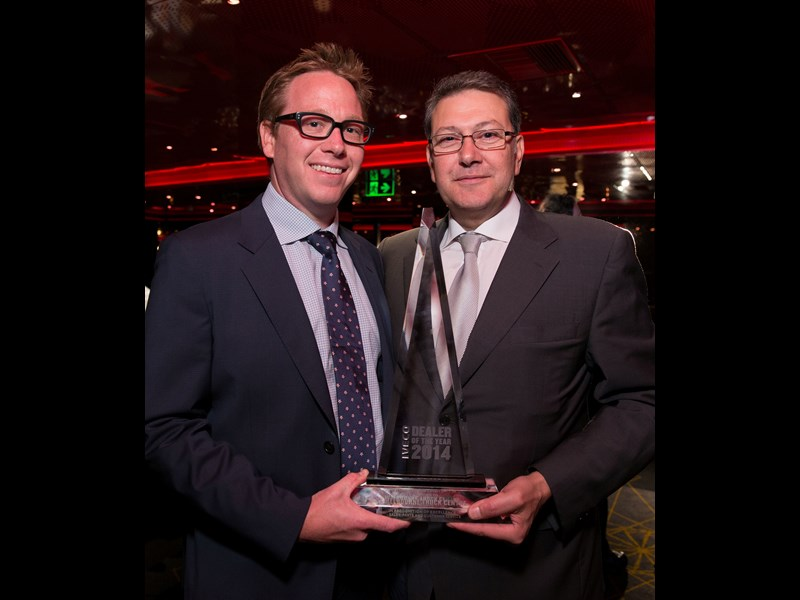 IVECO Release 2014 Dealer of the Year 1