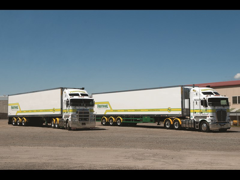 Two 26 pallet refrigerated trailers from Fruithaul