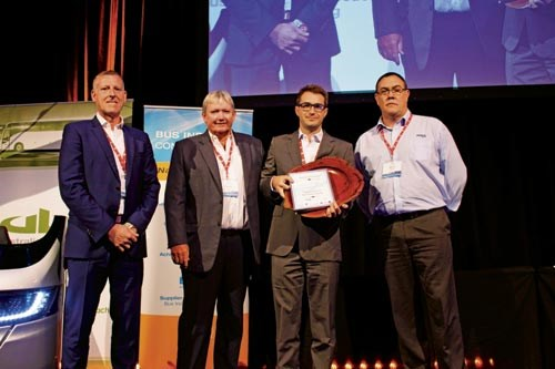 Transit Group Australia was bestowed the Environment & Innovation award for its Bustech branch