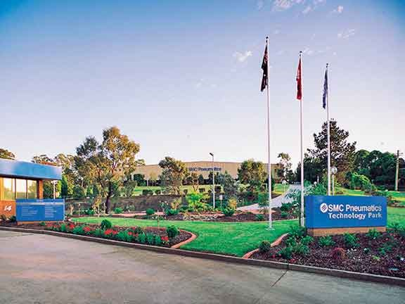 The SMC Pneumatics premises in Sydney