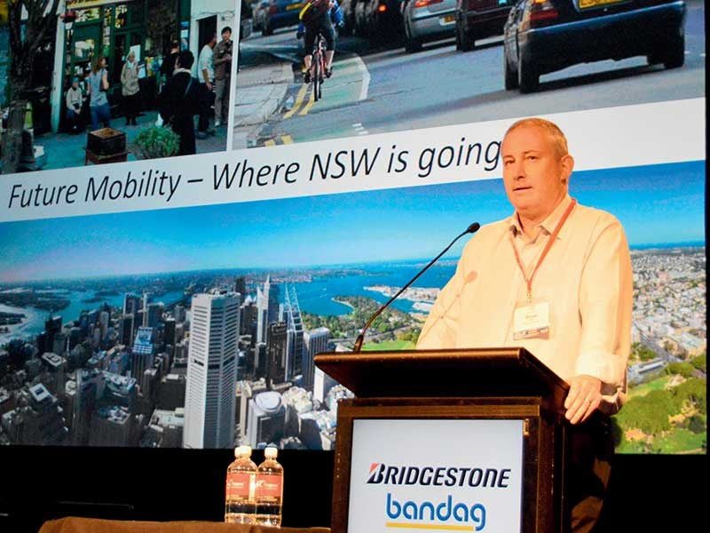 TfNSW director road transport strategy Bryan Willey