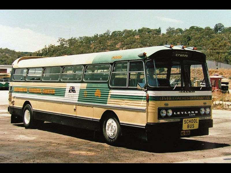 Leyland crossed a Royal Tiger Worldmaster with an Atlantean and the offspring became the Lion