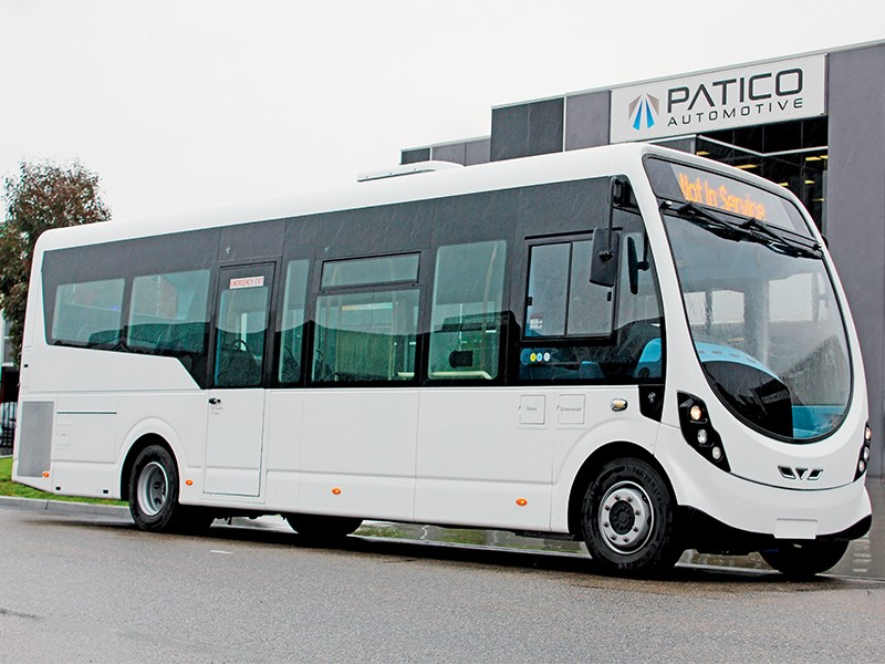 "The new Wrightbus ""Streetlite"" low-floor route bus from Northern Ireland might be just the ticket for Australian operators carrying small loads or traversing narrow streets."