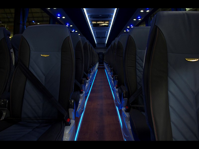 Luxury coach, or private jet?