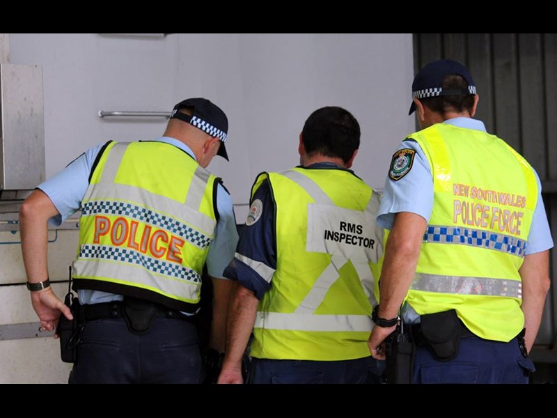 NSW police and RMS inspectors 1