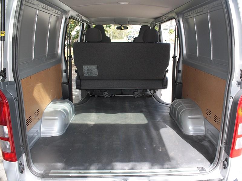 c5db0ab05d Deeper view of the Toyota HiAce Crew van