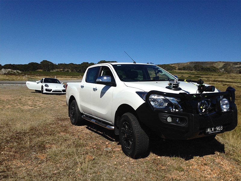 Top Gun towing Mazda BT-50| News