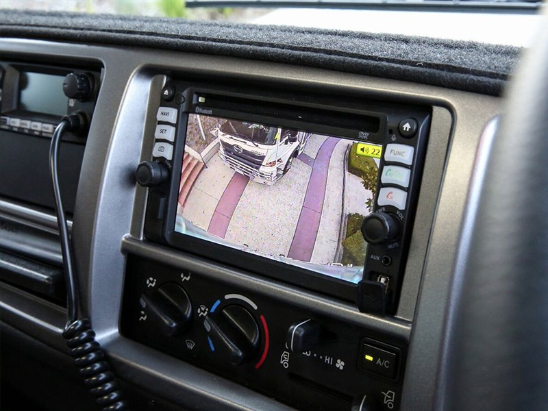 Hino 500 series FM2635 truck model Reversing camera