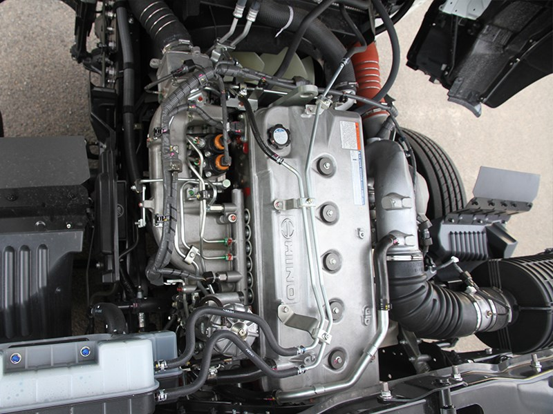 Hino 500 series FM2635 truck model engine