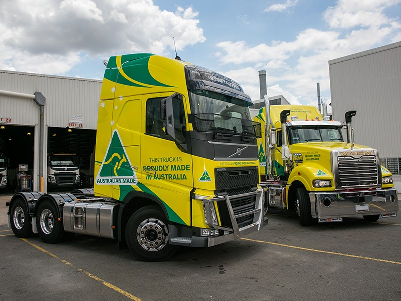 Volvo Group celebrated the production of its 60,000th truck with a special event at the Wacol factory today.
