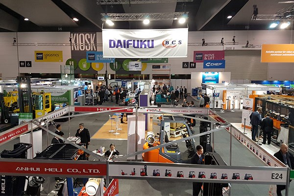 Hundreds attended the 2016 CeMAT materials handling exhibition in Melbourne yesterday.
