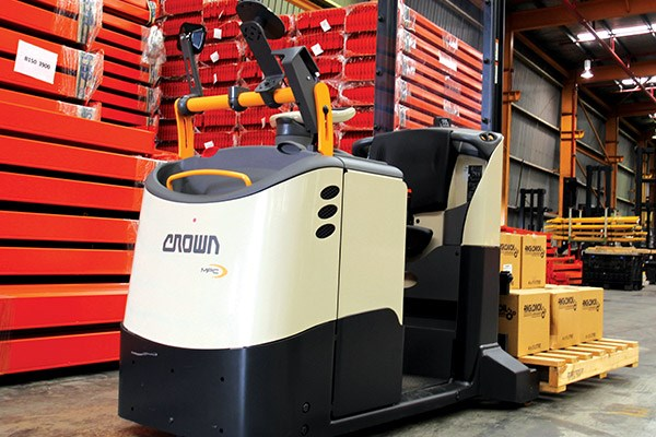 Crown MPC3000 Forklift Review ATN2