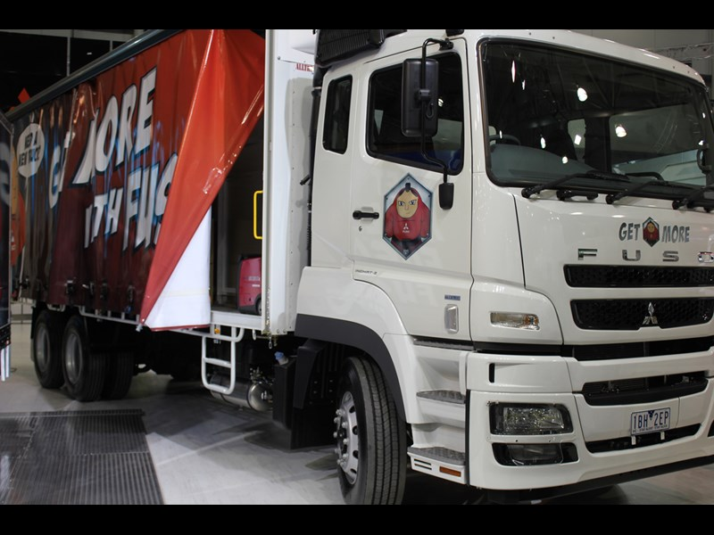 FUSO Activation Truck