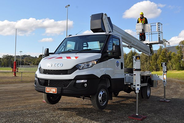 Iveco Cherry Picker Nifty Lift Daily ATN4