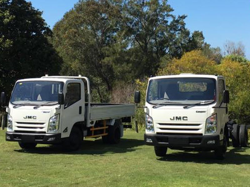 JMC Conquer Chinese Truck Maker Launch