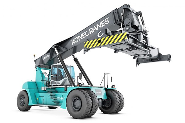 New Konecrane reach stacker.