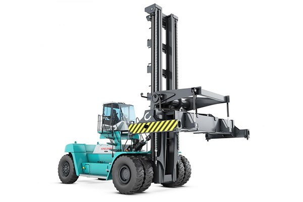 New Konecrane container lift truck.