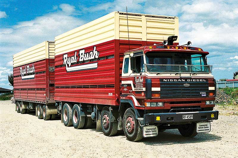 Old-school trucks: Ryal Bush (part 1)