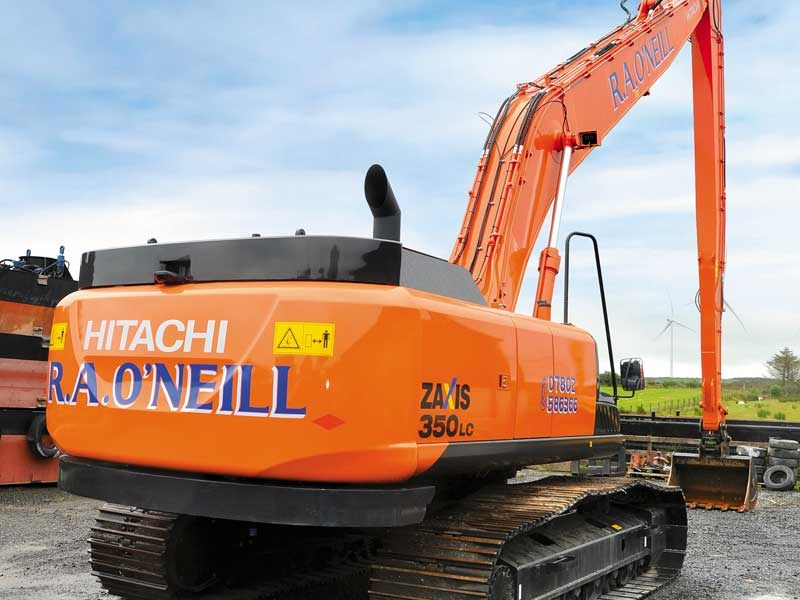 Special feature: Hitachi Zaxis 350LC-5 excavator