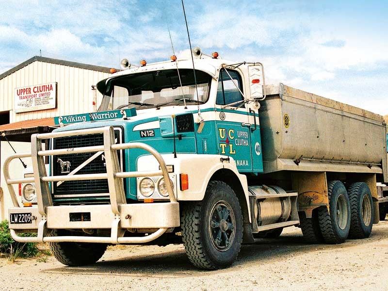 Old school trucks: Upper Clutha Transport