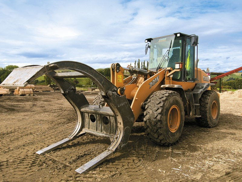 Cover story: Case 721F loader